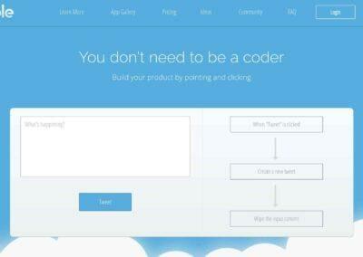 Bubble / Créez votre site web ou App mobile sans coder.