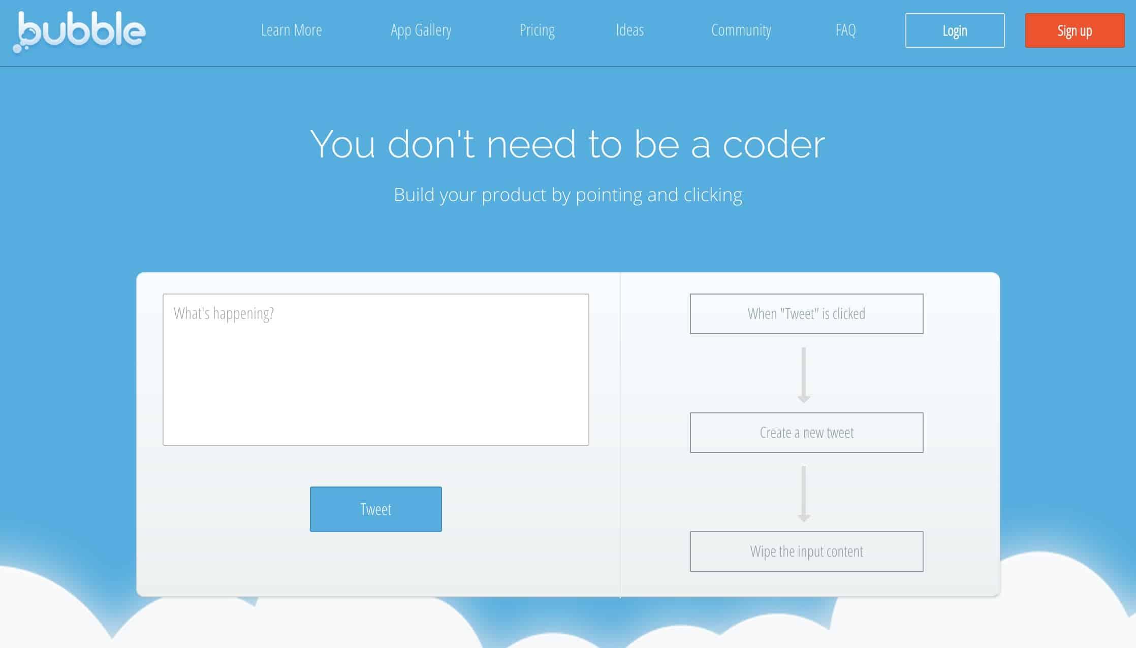 #Startup / Bubble : La plateforme no-code pour créer vos sites web ou Apps mobiles.