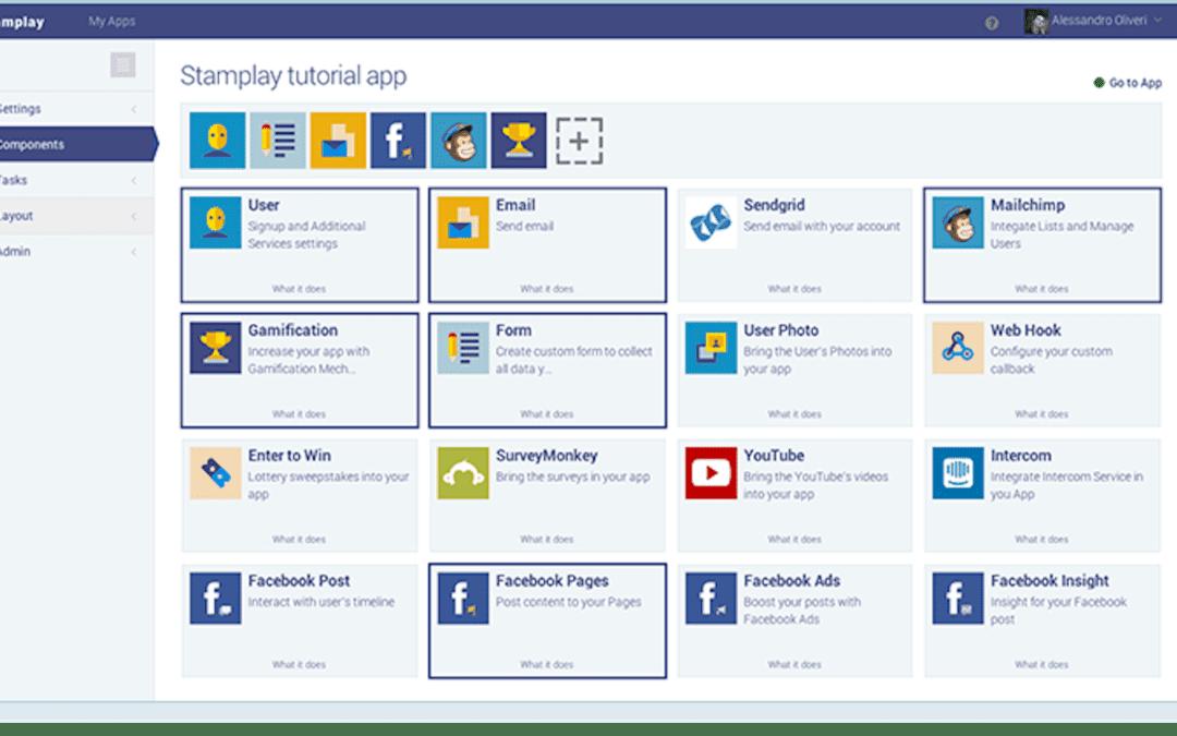 Stamplay : Créez un site web ou une App mobile sans coder !