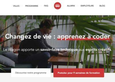 """Le Wagon : La meilleure école de code en mode """"BootCamp"""" au monde"""