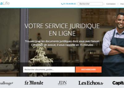 LegaLife.fr : Votre service juridique en ligne !