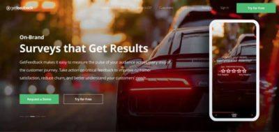 Getfeedback : Créez des enquêtes en ligne sexy & mobile friendly.