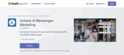 Octane AI : Boostez les ventes de votre boutique e-commerce Shopify.