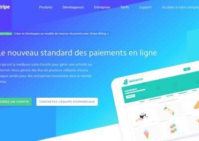 Stripe : Le paiement en ligne pour vos sites & Apps en toute simplicité.