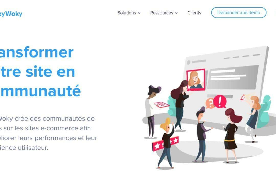 TokyWoky : Développez de 10 à 20% les ventes de votre e-commerce en permettant à vos clients de chatter en temps réel et se recommander vos produits.