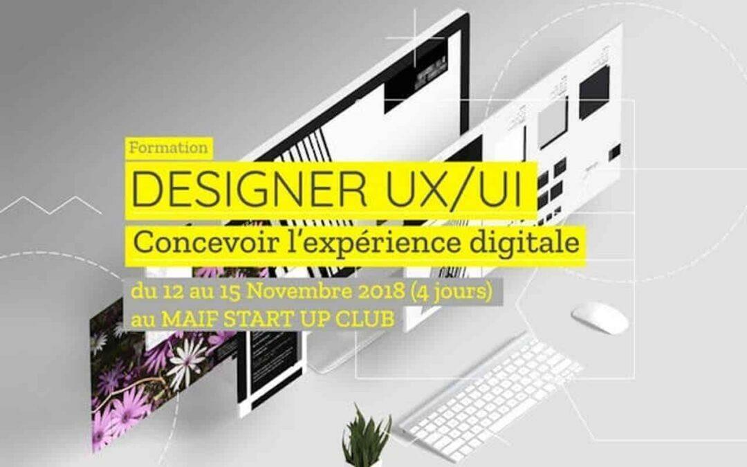 #UX / 4 jours pour se former à la conception de produits digitaux centrée sur les utilisateurs