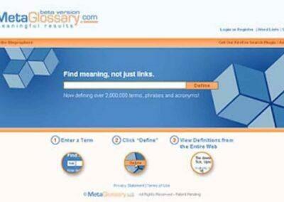 MetaGlossary : Une excellente source de mots clés SEO.