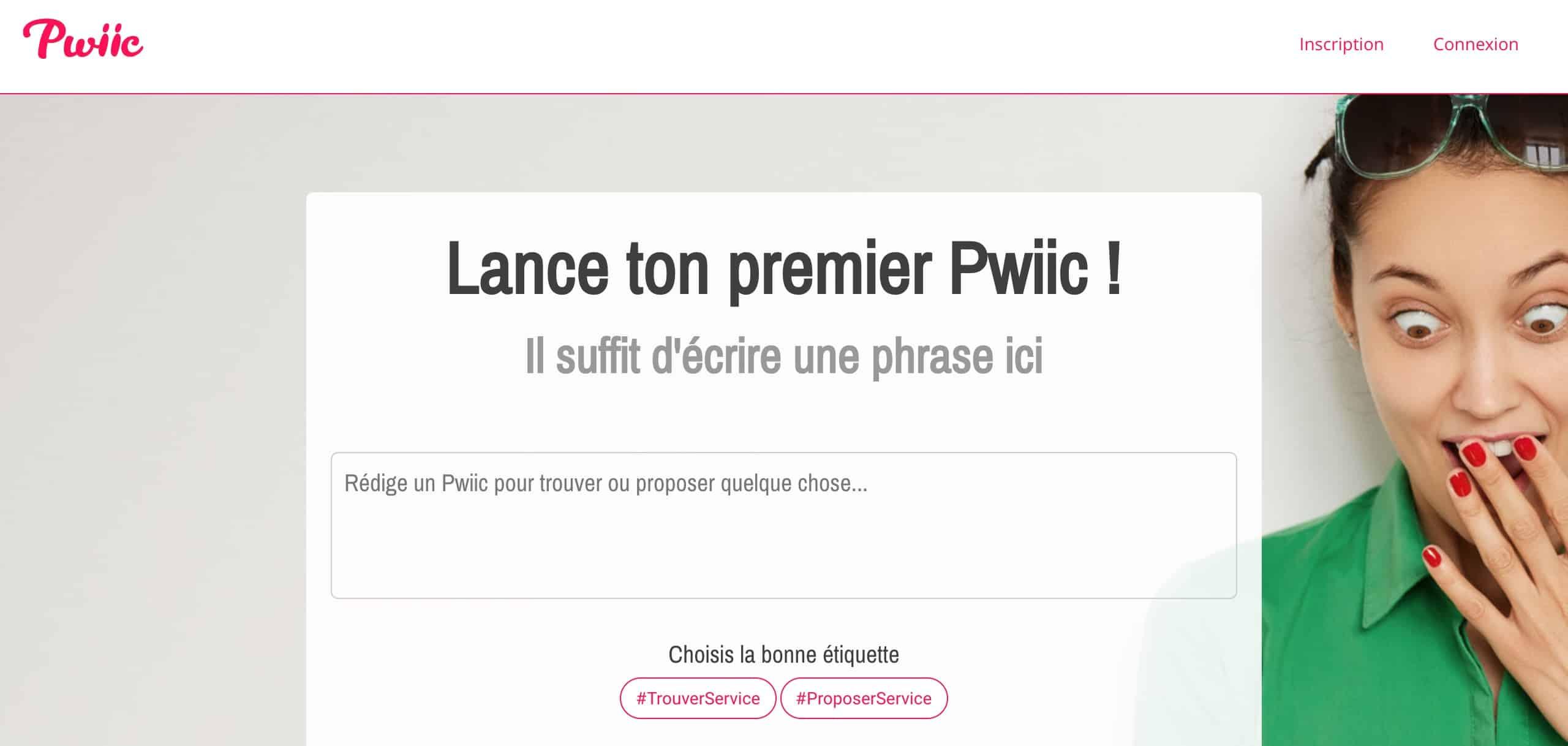 Pwiic.com : Le site coopératif d'entraide entre voisins et de services entre particuliers
