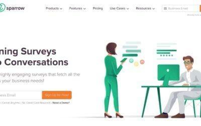 Survey Sparrow : Réalisez des questionnaires d'enquête et sondages conversationnels, à la manière d'un #chatbot