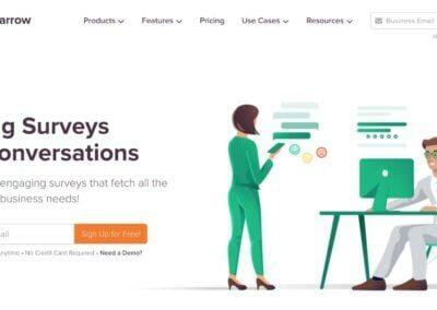 Survey Sparrow : Réalisez des questionnaires d'enquête et sondages conversationnels