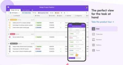 AirTable : moitié tableur et moitié base de donnée, l'outil parfait pour gérer des données et travailler en équipe.