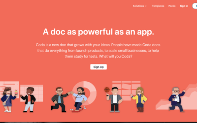Coda / Créez des documents dynamiques aussi complets que des applications.