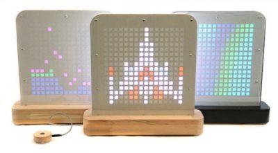 #Crowdfunding / Posti Light : créez une déco «pixel art» avec cette lampe connectée.