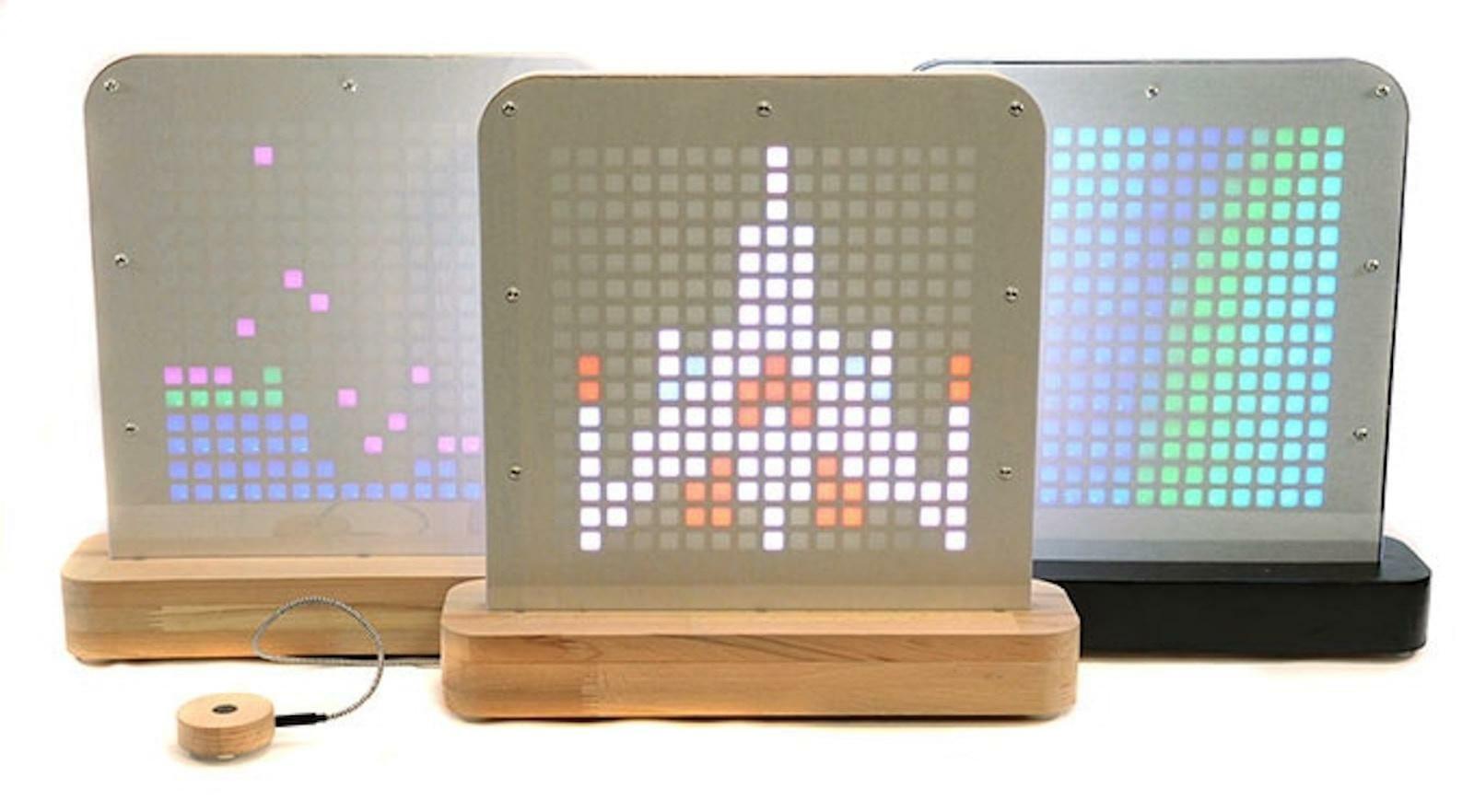 """#Crowdfunding / Posti Light : créez une déco """"pixel art"""" avec cette lampe connectée."""