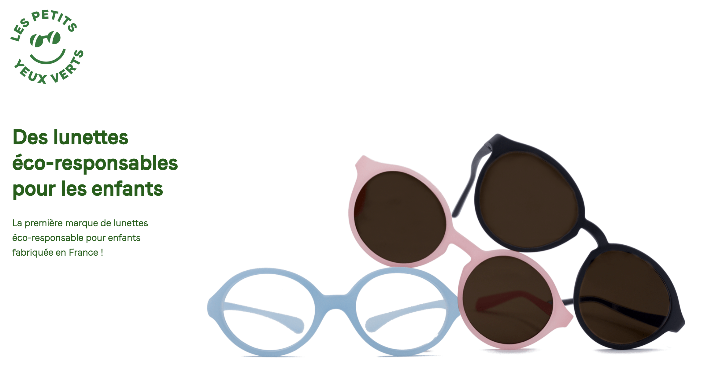 #Crowdfunding / Les Petits Yeux Verts : des lunettes éco-responsables pour vos enfants.