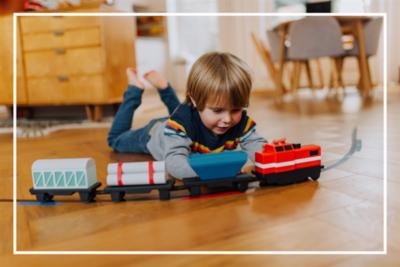 #Crowdfunding / LoCoMoGo : Sensibilisez vos enfants au code avec un circuit de train électrique !