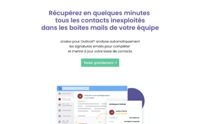 Anaba : Récupérez en quelques minutes les contacts inexploités dans votre boite mail.
