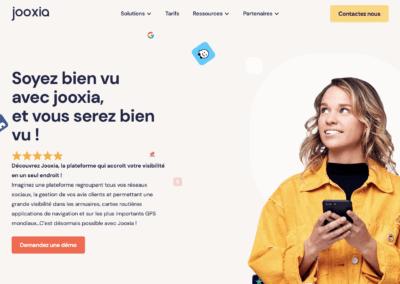 Jooxia : Augmentez votre visibilité sur les recherches de proximité grâce à la gestion centralisée de votre référencement local.